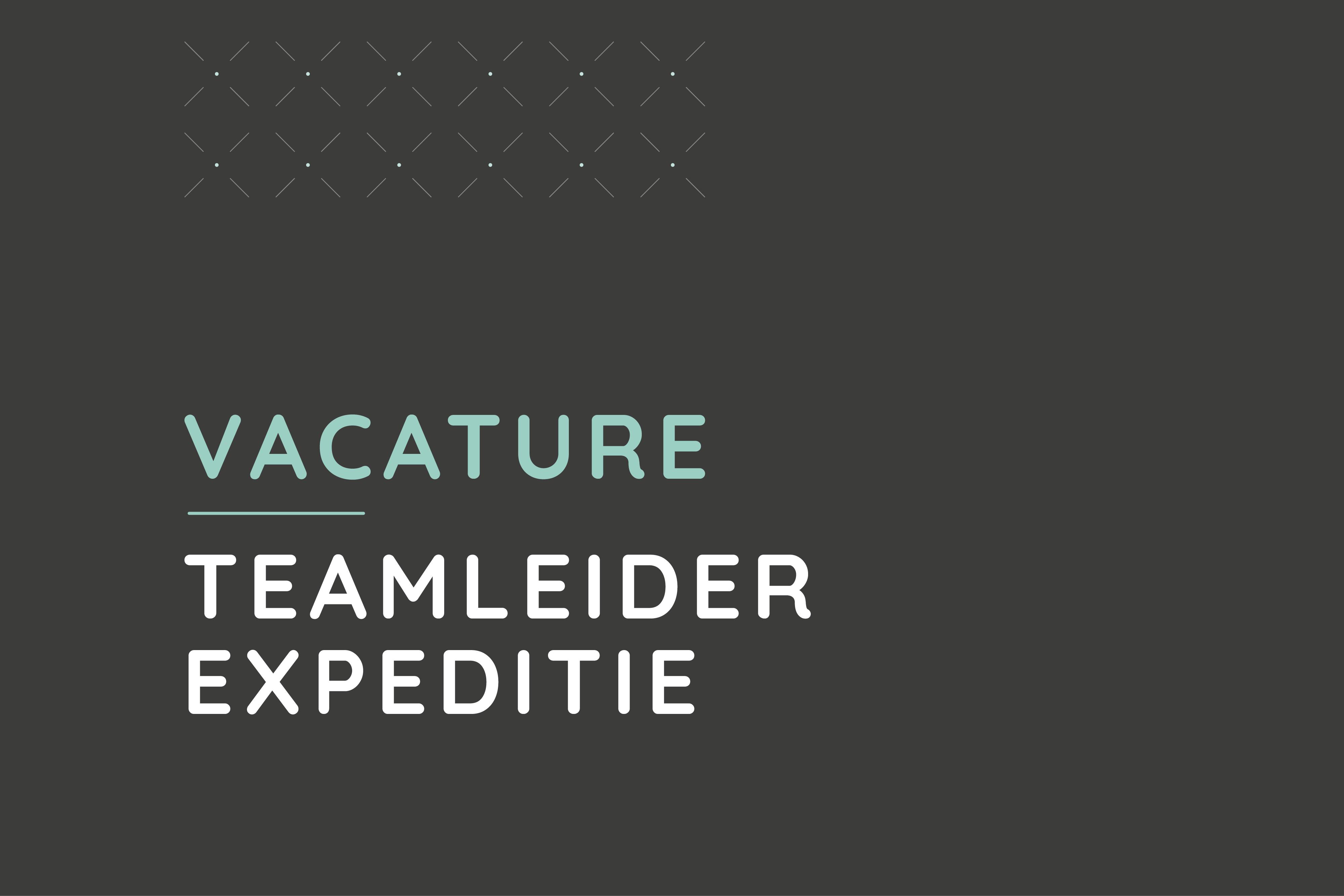 Teamleider Expeditie